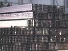 China Tubo de aço retangular da parede grossa, tubulação de aço do quadrado da estrutura de construção distribuidor