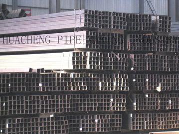 China Tubo de aço retangular da parede grossa, tubulação de aço do quadrado da estrutura de construçãoem vendas